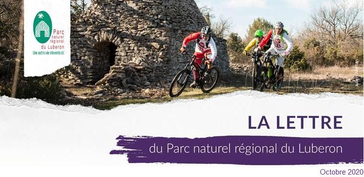 La lettre du Parc du Luberon (octobre)