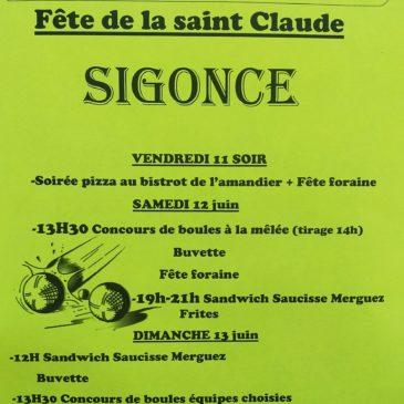 Fête de la St Claude