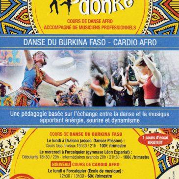 Cours de danse Afro